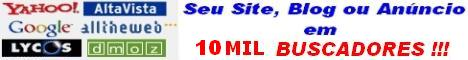 Cadastre seu Site, Link, Blog, Portal ou Loja Virtual em 350 MIL BUSCADORES!